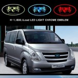 [ARTX] Hyundai Grand Starex - Chrome Luxury Generation LED Emblem Set