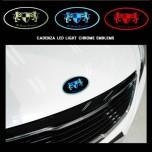 [ARTX] KIA K7 - Chrome Luxury Generation LED Emblem Set