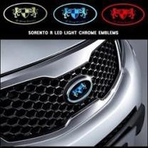 [ARTX] KIA Sorento R - Chrome Luxury Generation LED Emblem Set