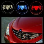 [ARTX] SsangYong Actyon / Actyon Sports - Chrome Luxury Generation LED Emblem Set