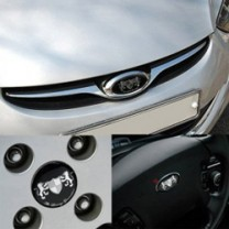 [ARTX] Hyundai Avante MD - Luxury Generation Tuning Emblem 3 type Set