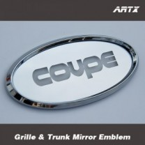 [ARTX] Hyundai Genesis Coupe - Mirror Tuning Emblem Set