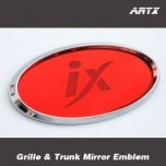 [ARTX] Hyundai Tucson iX - Mirror Tuning Emblem Set