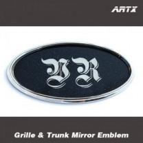 [ARTX] Hyundai Veracruz - Mirror Tuning Emblem Set