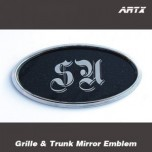 [ARTX] KIA All New Pride - Mirror Tuning Emblem Set