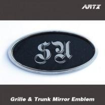 [ARTX] KIA All New Pride - Mirror Tuning Emblem Set