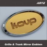 [ARTX] KIA Forte Koup - Mirror Tuning Emblem Set