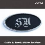 [ARTX] KIA Soul - SU Logo Mirror Tuning Emblem Set