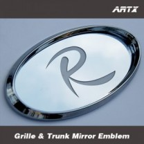 [ARTX] KIA New Sorento R - Mirror Tuning Emblem Set