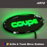 [ARTX] Hyundai Genesis Coupe - LED Mirror Tuning Emblem Set