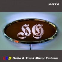 [ARTX] Hyundai Grandeur HG - LED Mirror Tuning Emblem Set