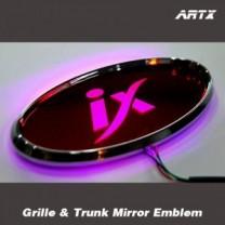 [ARTX] Hyundai New Tucson ix - LED Mirror Tuning Emblem Set
