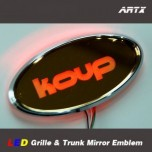 [ARTX] KIA Forte Koup - LED Mirror Tuning Emblem Set
