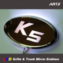 [ARTX] KIA K5 - LED Mirror Tuning Emblem Set