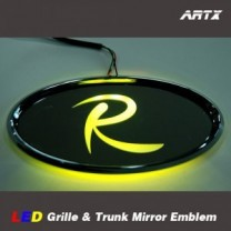 [ARTX] KIA New Sorento R - LED Mirror Tuning Emblem Set