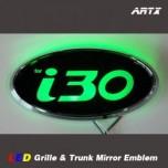 [ARTX] Hyundai i30 / New i30 - LED Mirror Tuning Emblem Set No.84