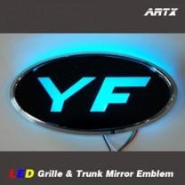 [ARTX] Hyundai YF Sonata - LED Mirror Tuning Emblem Set No.88