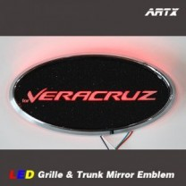 [ARTX] Hyundai Veracruz / ix55 - LED Mirror Tuning Emblem Set No.89