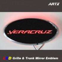 [ARTX] Hyundai Veracruz / ix55 - LED Mirror Tuning Emblem Set No.89
