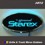 [ARTX] Hyundai Grand Starex / H1 - LED Mirror Tuning Emblem Set No.92