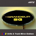 [ARTX] Hyundai Grandeur HG - LED Mirror Tuning Emblem Set No.95