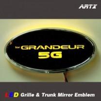 [ARTX] Hyundai Grandeur HG - LED Mirror Tuning Emblem Set No.95