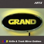 [ARTX] Hyundai Grand Starex / H1 - LED Mirror Tuning Emblem Set No.97