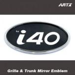 [ARTX] Hyundai i40 - Mirror Tuning Emblem Set No.83