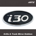 [ARTX] Hyundai i30 / New i30 - Mirror Tuning Emblem Set No.84