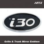 [ARTX] Hyundai i30 / New i30 - Mirror Tuning Emblem Set No.84