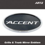 [ARTX] Hyundai New Accent - Mirror Tuning Emblem Set No.86