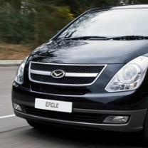 [AUTORIA] Hyundai Grand Starex - V-Style Eagle Edition Emblem Set - Front / Rear