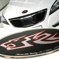 [ARTX] KIA K7 - Wild Wolf Tuning Emblem Full Set