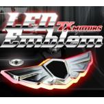 [7X] HYUNDAI / KIA - Wings-Logo 2-Way Luxry LED Emblem