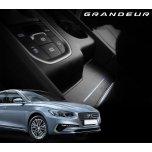 [DK Motion] Hyundai Grandeur iG - Leather LED Inside Door Catch Plates