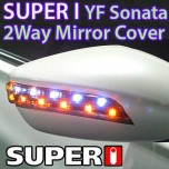 [SUPER I] Hyundai YF Sonata - 2Way LED Rear View Mirror Cover Set