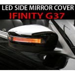 [GREENTECH] Infiniti G37 - LED Side Mirror Cover with Repeaters Set