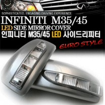 [GREENTECH] INFINITI M35 & M45 - LED Side Mirror Cover with Repeaters