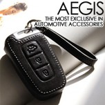 [AEGIS] KIA All New Morning - Hand Made Smart Key Leather Key Holder (3 Buttons)