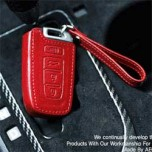 [AEGIS] Hyundai Genesis Coupe - Custom Made Smart Key Leather Key Holder (4 Buttons)