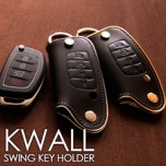 [AEGIS] Hyundai 5G Grandeur HG - KWALL Smart Key Leather Key Holder (4 Buttons)
