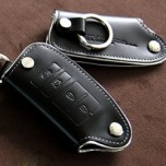 [AEGIS] KIA New K7 - KWALL Smart Key Leather Key Holder (4 Buttons)