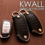 [AEGIS] Hyundai LF Sonata - KWALL Smart Key Leather Key Holder Swing Type (4 Buttons)