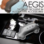 [AEGIS] KIA K7 - Pocket Car Smart Key Leather Key Holder (4 Buttons)