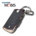 [MOBIS] KIA All New Pride - Smart Key Leather Key Holder (BLACK) - TF300R
