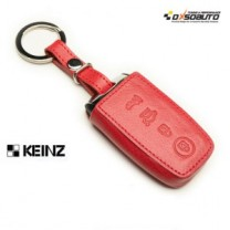 [KEINZ] KIA New - Smart Key Leather Pouch Key Holder City (4 Buttons)
