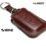 [KEINZ] HYUNDAI - Smart Key Leather Pouch Clam Key Holder (3 Buttons)