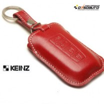 [KEINZ] HYUNDAI - Smart Key Leather Pouch Clam Key Holder (4 Buttons)