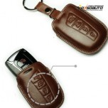 [KEINZ] Hyundai Grandeur HG - Smart Key Leather Pouch Clam Key Holder