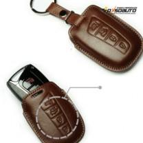 [KEINZ] Hyundai Grandeur HG - Smart Key Leather Pouch Clam Key Holder